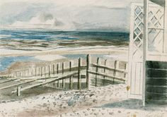 Paul Nash, Winchelsea Beach on ArtStack #paul-nash #art