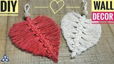 In this easy Macrame Hea… DIY Macrame Heart Wall hanging – Wall Decoration Ideas .In this easy Macrame Heart tutorial I'll show you How to Make Macrame wall hanging decoration with Ea… Next Post Previous Post DIY Macrame Heart Wall hanging – Wall Macrame Wall Hanging Diy, Wall Hanging Crafts, Hanging Decorations, Diy Wall Decor, Embroidery Hearts, Embroidery Patterns, Hand Embroidery, Macrame Patterns, Crochet Patterns