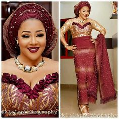 nigerian dress styles Latest Aso Ebi Styles beautiful wedding Aso Ebi styles with Gele Aso Ebi Lace Styles, African Lace Styles, Lace Dress Styles, Latest Aso Ebi Styles, African Style, African Beauty, Ankara Styles, African Fashion Dresses, African Attire