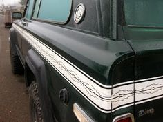 """OLD PARKED CARS.: 1977 Jeep Cherokee Chief """"S""""."""