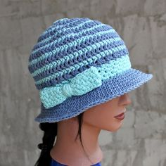 Jessica Simpson Style Cloche Hat with Side Bow  by Threadmill, $29.00