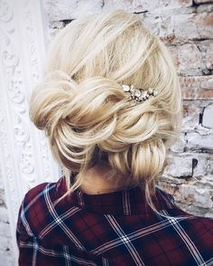 Best Ideas For Wedding Hairstyles : Featured Hairstyle: tonyastylist (Tonya Pushkareva); Prom Hairstyles For Long Hair, Wedding Hairstyles For Long Hair, Wedding Hair And Makeup, Up Hairstyles, Pretty Hairstyles, Hairstyle Ideas, Hairstyles For Strapless Dresses, Hair Wedding, Romantic Wedding Hair