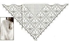 shawl ✭Olga Diezt http://www.pinterest.com/olgadiezt/ ✭