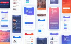 React Native Starter - Mobile Application Template built with React Native Custom Dashboard, Dashboard Template, Bootstrap Template, Machine Learning Course, Progressive Web Apps, Desktop Themes, Ui Components, React Native, Open Source Projects