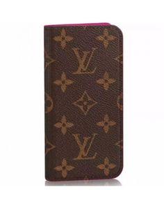 Louis Vuitton iPhone7/iPhone8plusケース ルイヴィトン 2017年新型 シンプル アイフォン6/6Sプラスメンズ 手帳型ケース シンプルLV 通販