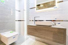 Łazienka w aranżacji płytek Tubądzin Abisso - zdjęcie od BLU salon łazienek Rumia Bathroom Design Small, Bathtub, Design Inspiration, House Design, Google Search, Houses, Tiles, Toilets, Bath