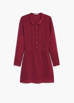 Amal Clooney shows off her chic wardrobe in scarlet shirt dress Amal Clooney, Shirt Dress, Blouse, Scarlet, Chiffon, Tunic Tops, Mango France, Shirts, Mango Fashion
