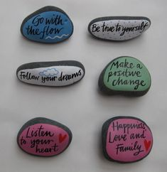 Image of Affirmation pebbles