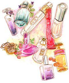 Julia Minamata Illustration -- the blog: Scentimental Journey