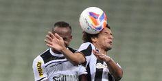 Botafogo empata fora de casa com o vice-lanterna Ceará e segue em primeiro na Série B http://glo.bo/1KQwvZf