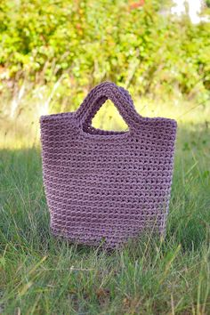 Rope bag / Unique design Bag from rope / Handmade by 220linen