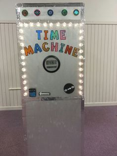 Time Travel Machine, The Bright Sessions, Vbs Themes, Holiday Program, Cardboard Box Crafts, Bible Story Crafts, Holiday Club, Science Party, Travel Party