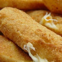 Try this Deep Fried Mozzarella Sticks recipe by Chef Michael Smith. This recipe is from the show Chef At Home.