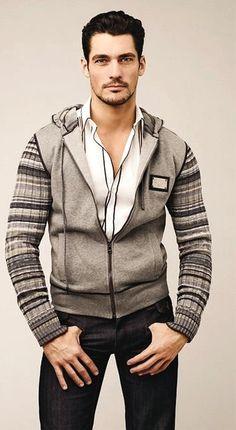 ♂ Masculine and Elegance man's fashion apparel casual David Gandy