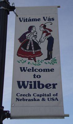 Vítáme Vás Wilber Banner (Wilber, Nebraska)