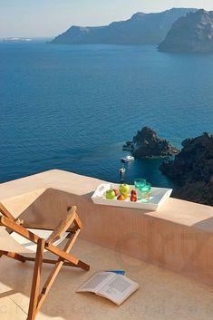 Luxury Villa in Oia, Santorini . Beautiful World, Beautiful Places, Places To Travel, Places To Go, Travel Destinations, Interior Photography, Luxury Villa, Dream Vacations, Vacation Trips