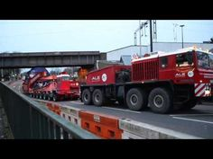 (14) A.L.E Heavy Haulage Unipower - North London Electrical Transformer move - YouTube