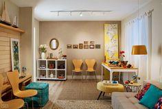 Sala pronta para o Natal por apenas 10 x R$ 593 - Casa