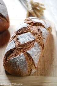 Mixed rye bread with buttermilk, Rye Bread, Pampered Chef, Bread Baking, Bread Recipes, Muffins, Bacon, Food And Drink, Homemade, Sweet