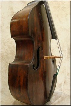 5/8 Size Tyrolean Double Bass c1850    my old bass is patterned on this style. this is a beautiful example of 19th century art
