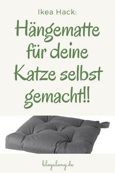 Ikea Hack: The cozy hammock for cats - Katzen Diy Hanging Shelves, Floating Shelves Diy, Chalk Paint Mason Jars, Painted Mason Jars, Mason Jar Crafts, Mason Jar Diy, Mason Jar Flowers, Diy Flowers, Mason Jar Lighting