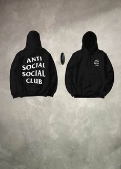 c31885eccf75 AntiSocial Social Club Hoodie Anti Social by CustomLifeDesign