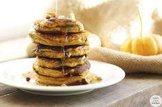 Gluten Free Dairy Free Lexi's Clean Kitchen – Pumpkin Chocolate Chip Protein Pancakes