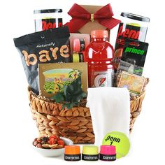 You don't have to be McEnroe to enjoy this tasty Tennis Basket $72.95