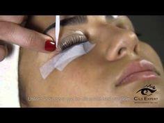 Rehaussement de cils silicone CILS EXPERT TUTORIAL - YouTube