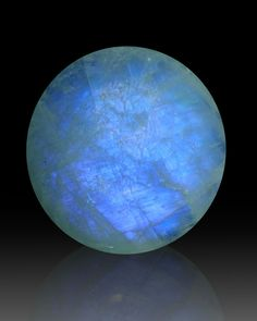 A gorgeous Moonstone Orb from India--can't you see the secrets in there?
