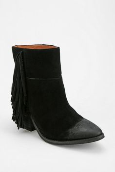 Jeffrey Campbell Roswell Fringe Ankle Boot