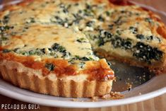 Quiches, Great Recipes, Snack Recipes, Vegetarian Recipes, Cooking Recipes, Ricotta, Tortas Sandwich, My Favorite Food, Favorite Recipes