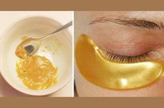They Call It 'The Gold Mask' Because It Helps To Eliminate Acne, Blemishes and Wrinkles - Healthy Advices Beauty Care, Beauty Hacks, Hair Beauty, Face Care, Skin Care, Natural Beauty Recipes, Anti Aging Serum, Tips Belleza, Skin Problems