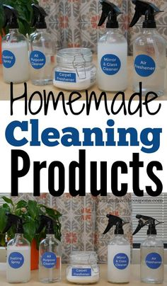 5 Frugal Homemade Cleaners That Are Actually Easy to Make
