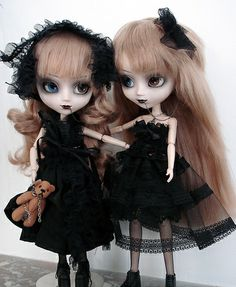 Gothic Dolls  They just kicked barbies ass :)