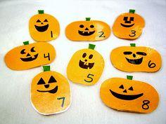 Pumpkin Treasure Hunt from Little Family Fun