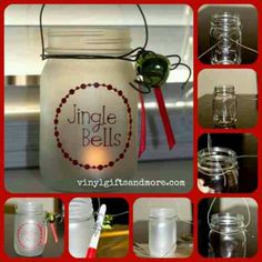 Mason Jar Christmas Lanterns