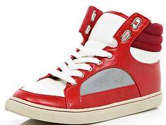 Wikid red Hi-tops