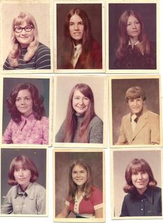 These are people I went to school with in the 70's at Nitro High School. Found on another board so I was surprised.