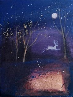 Catherine Hyde Artist - MOUNTED SMALL £60 Prints through lighter shadows