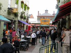 Findlay Market...the original foodie haven in Cincinnati and still going strong. Don't miss waffles and Avril's meats.