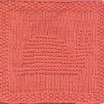 Snail Knit Dishcloth