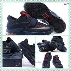 150303-004 Nike KD VII Denim Blu Rosso vendita scarpe sportive