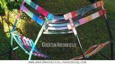 trio de chaises marimerveille fermob peintes à la main