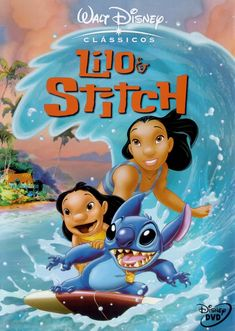 Buy Lilo & Stitch on DVD at Mighty Ape NZ. Disney animated comedy featuring the music of Elvis Presley. Young orphan Lilo is an Elvis fan who lives with her sister Nani in the beautiful surroun. Lilo Stitch, Lilo And Stitch Dvd, Stitch Disney, Disney Dvd, Film Disney, Disney Movies, Disney Pixar, Hd Movies, Movies To Watch