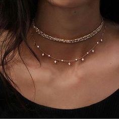 Imagen de fashion, necklace, and girl