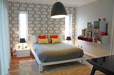 Private House 2 - Boy Room  Nice Silver rug, Mambo Unlimited Ideas