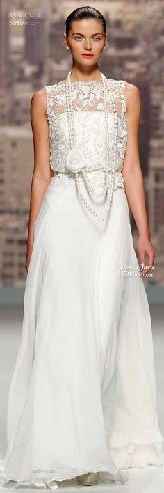 Rosa Clara: Barcelona Bridal Week Spring 2015