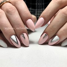 Attention to the semi-permanent varnish - My Nails Blue Nails, White Nails, White Glitter, Pink White, Pastel Nails, Pastel Pink, Hair And Nails, My Nails, Finger Nail Art