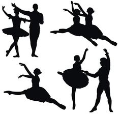 google search for silhouette image and you get a bunch of potential shadow puppets